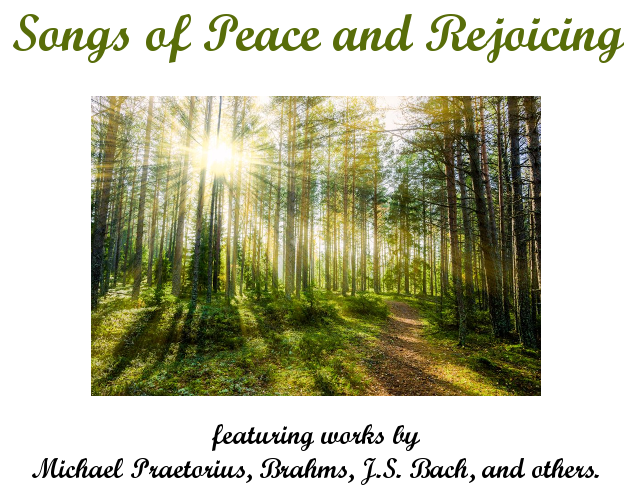 Songs of Peace and Rejoicing